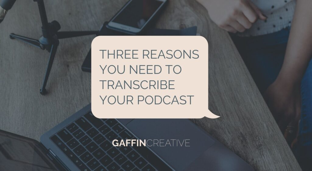 transcribe your podcast