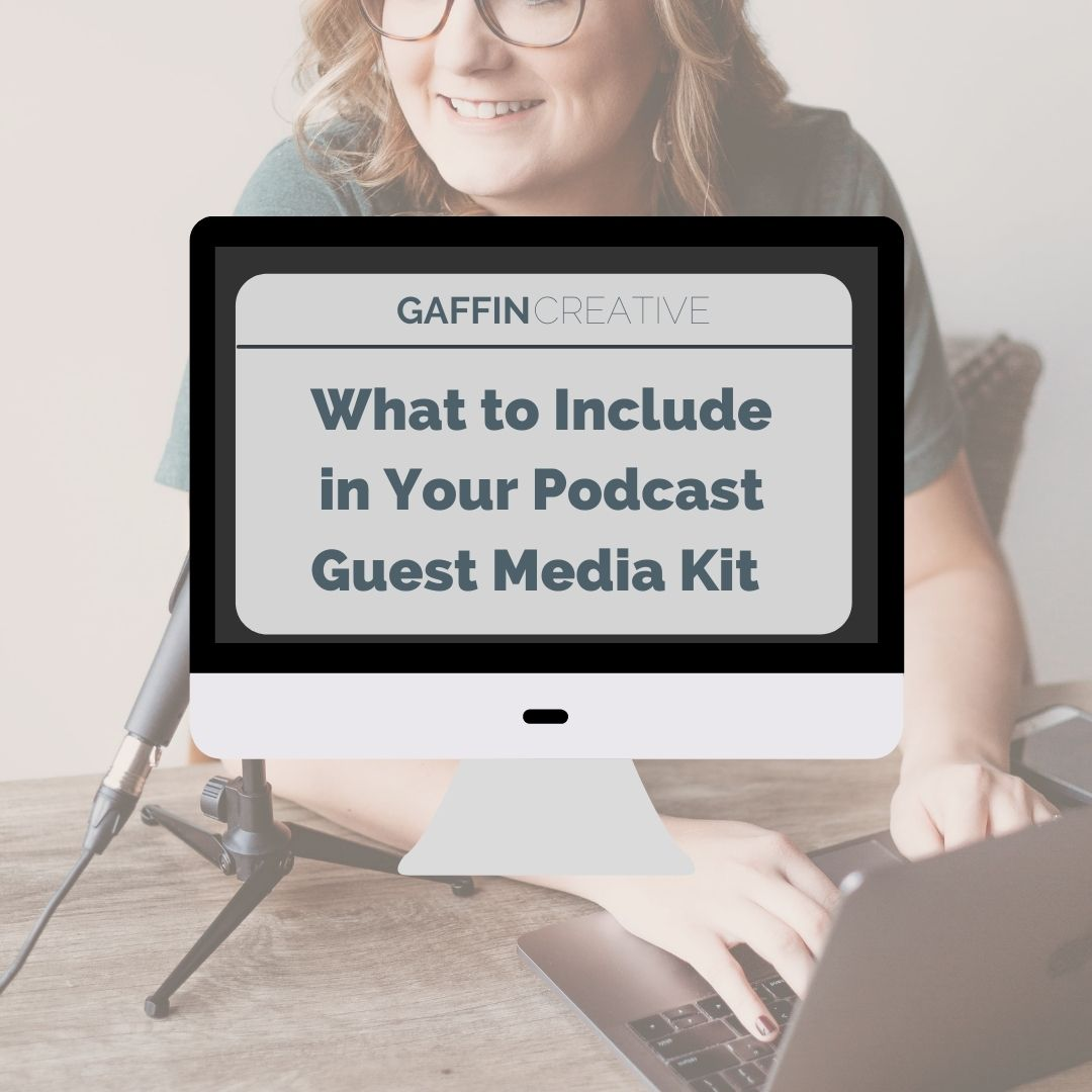 What to Include In Your Podcast Guest Media Kit