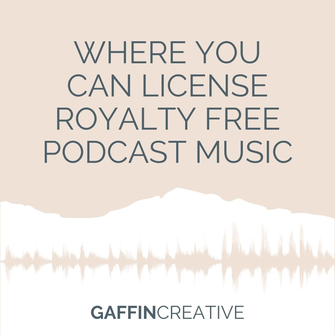 Where You Can License Royalty Free Podcast Music