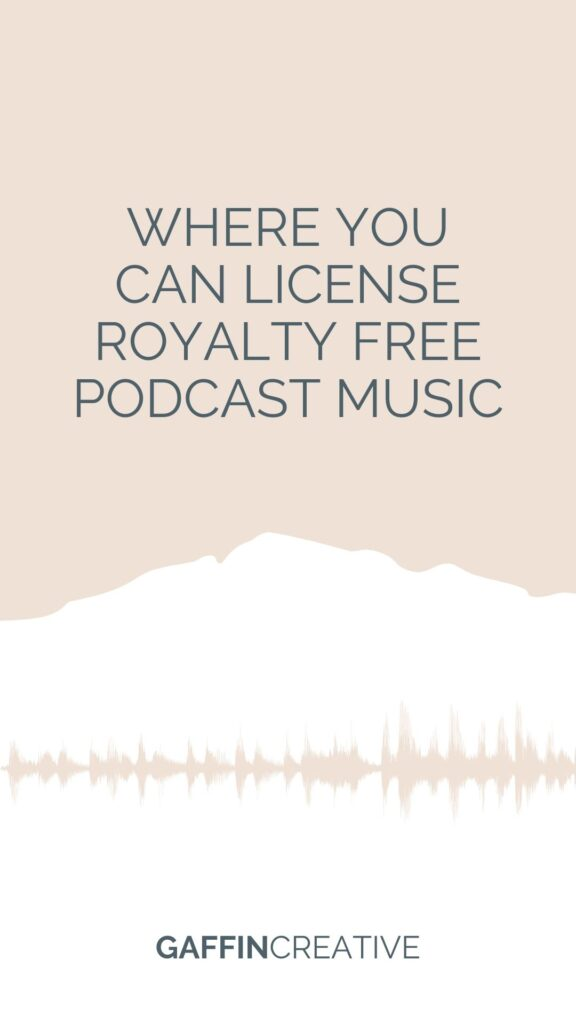 royalty free podcast music