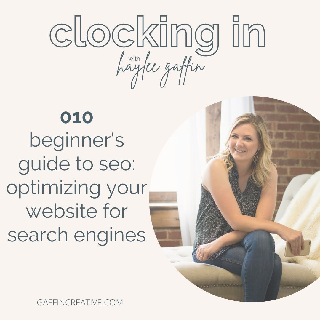 Episode 010: Beginner's Guide to SEO: Optimizing Your Website for Search Engines