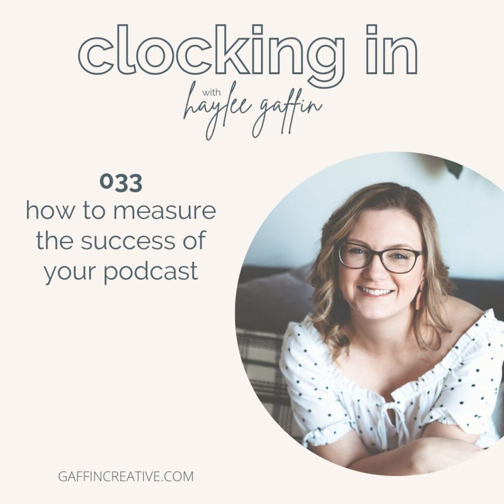 clocking in with haylee gaffin episode cover